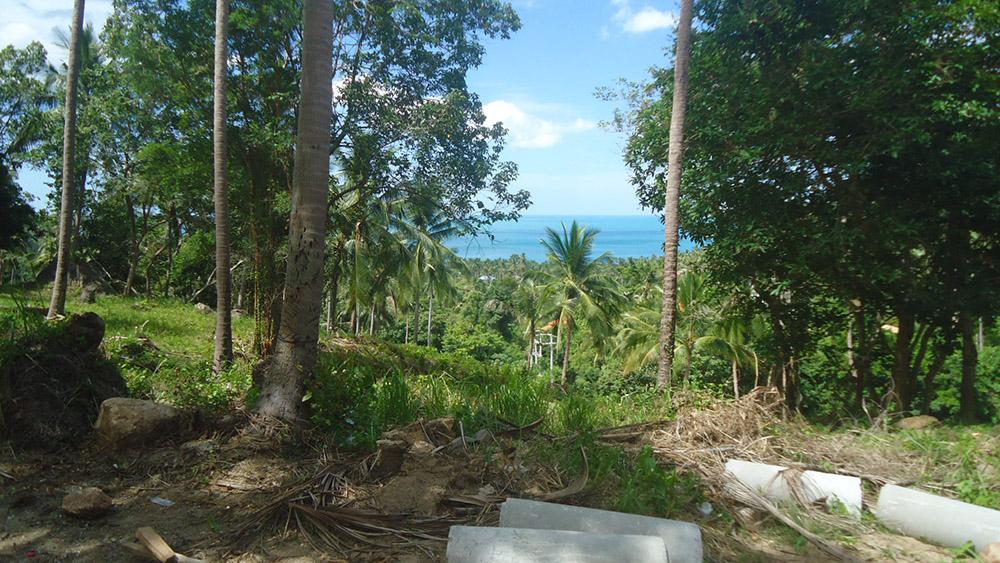Koh Samui, Ko Samui, hillside land sea view Chaweng Noi