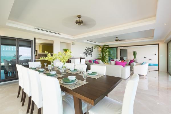 Ko Samui Villa - Dining Room