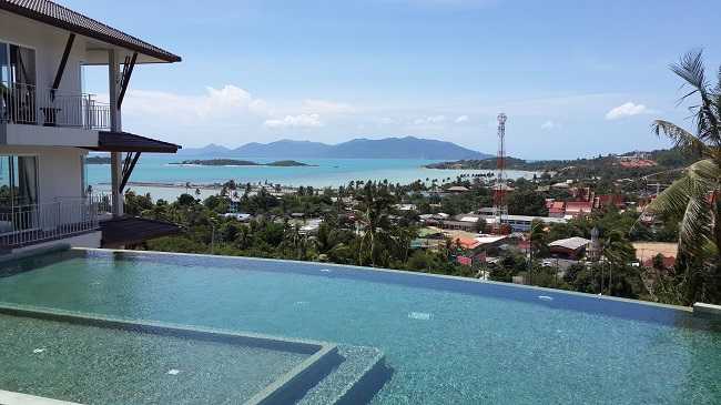 View from The Bay Condos towards Koh Phangan