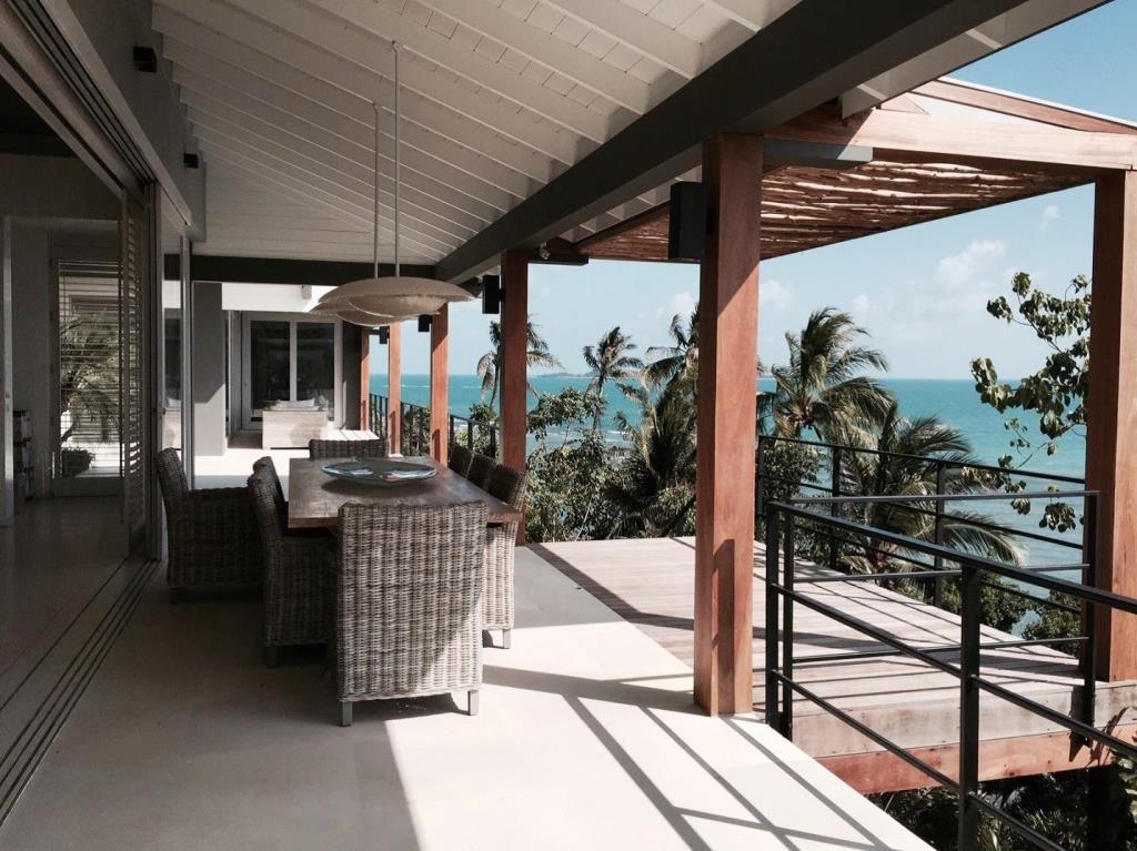 Koh Samui, 6 Bedroom luxury villa, Laem Sor, ocean front, terrace