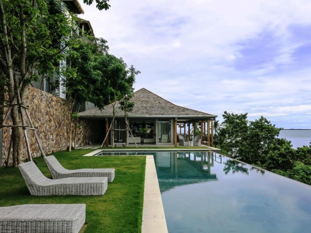Koh Samui, 6 Bedroom luxury villa, Laem Sor, ocean front