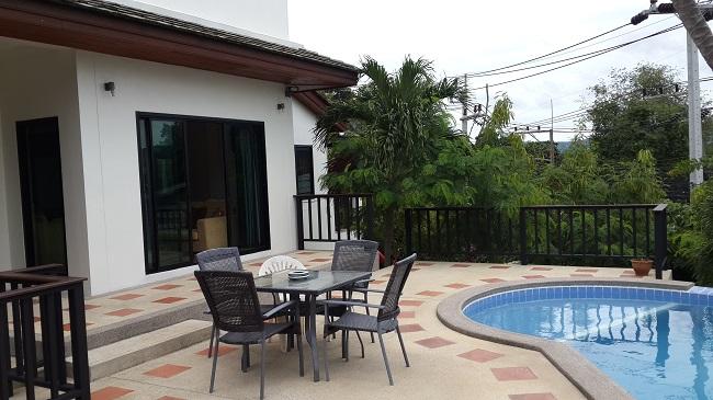 Koh Samui, Villa for Sale, Sea View Villa, 3 Bedrooms, pool terrace