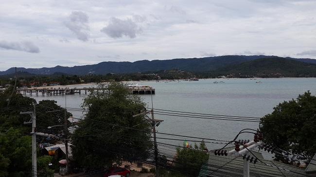 Koh Samui, Villa for Sale, Sea View Villa, 3 Bedrooms, view across Bangrak and Big Buddha Bay