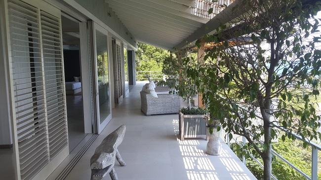 Koh Samui, Five bedroom luxury villa, ocean front, terrace