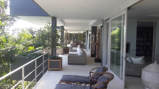 Koh Samui, Five bedroom luxury villa, ocean front, lower terrace