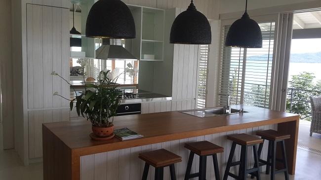 6 Bedroom luxury villa, Koh Samui, ocean front, kitchen