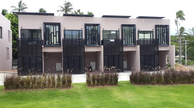 Koh Samui, Pause by Reply, 2 bedrooms, townhouse, front view