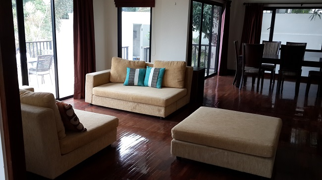 Koh Samui, Villa for Sale, Sea View Villa, 3 Bedrooms, lounge area