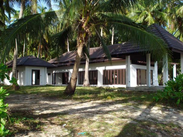 Koh Samui, beach land for sale, house