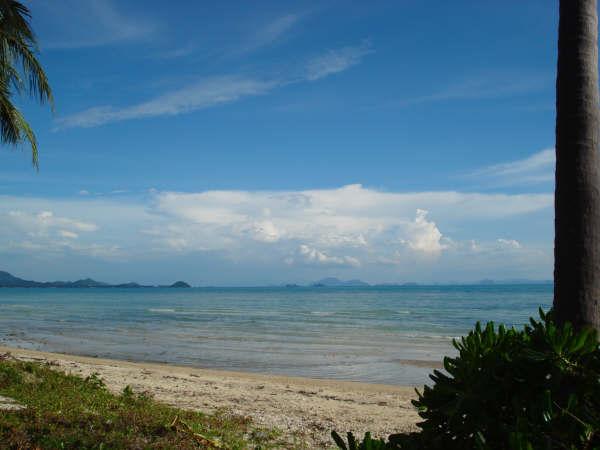 Koh Samui, Beach land for sale,