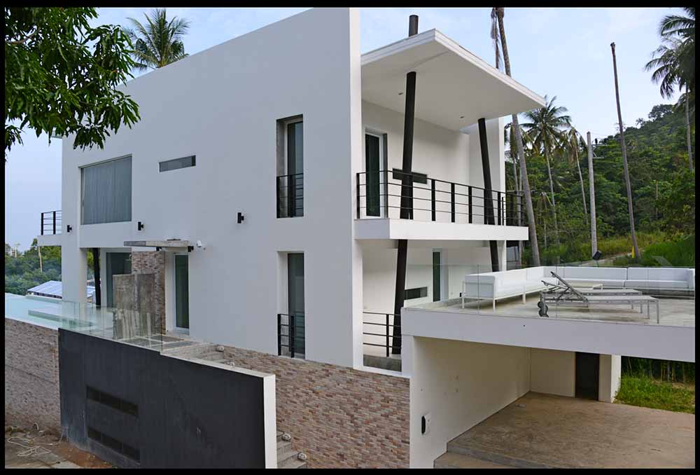 villa for sale Koh Samui, sea view villa for sale Koh Samui, villa in development for sale Koh Samui,