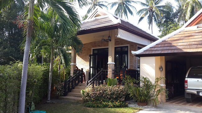 Koh Samui, Bungalow, 3 Bedrooms, Ban Kao, near sea, bedroom 3 outside
