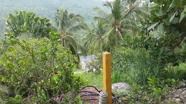 Koh Samui, hillside land, Ban Tai, sea view land, view from the top of the land
