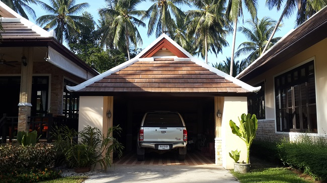 Koh Samui, Bungalow, 3 Bedrooms, Ban Kao, near sea, garage