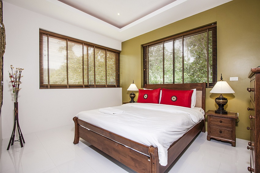Koh Samui, Maenam, 3 bed pool villa for sale, Villa for rent, bedroom 3,