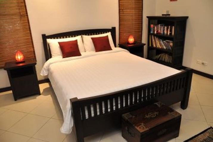 Koh Samui, Samran Gardens, 3 bedroom bungalow, Swimming Pool, Bedroom 2