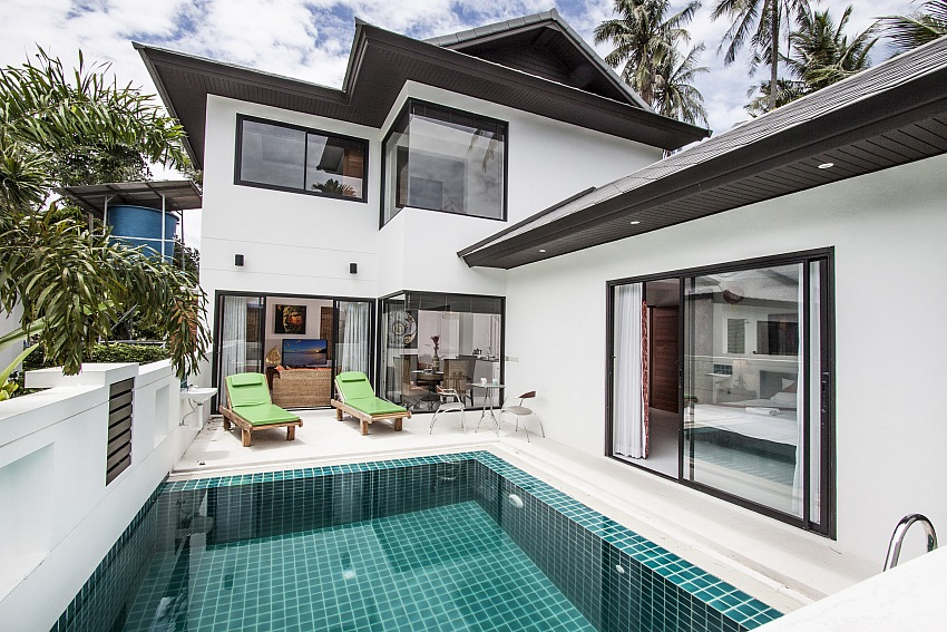 Koh Samui, Maenam, New 3 Bed pool villa,