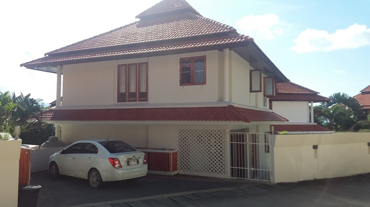 Koh Samui, Choengmon, 3 bedroom, detached pool villa,v