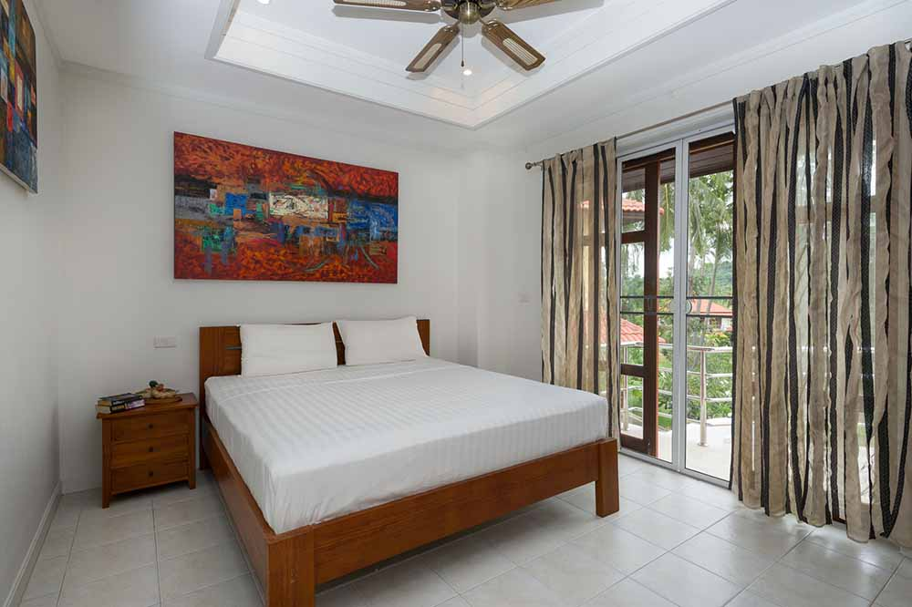 Koh Samui, Choengmon, 3 bedroom, detached pool villa, bedroom 2