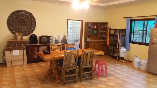 Koh Samui, Lamai, 3 bedroom bungalow for sale, villa for sale, dining room,