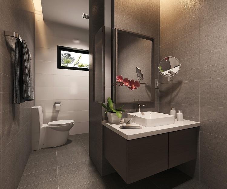Koh Samui, Plai Laem, New Townhouse for sale, Samui Emerald Villa, bathroom,