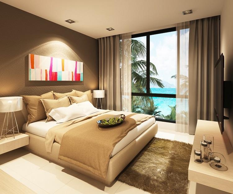 Koh Samui, Plai Laem, New Townhouse for sale, Samui Emerald Villa, bedroom,