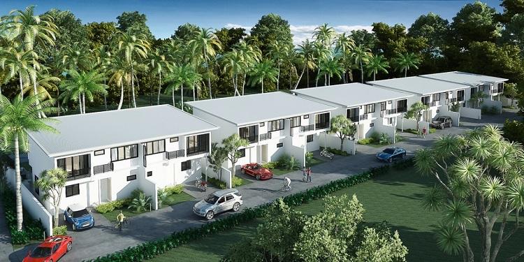 Koh Samui, Plai Laem, New Townhouse for sale, Samui Emerald Villa,