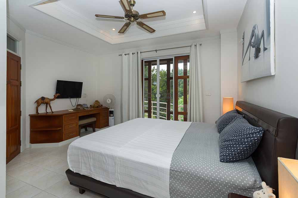 Koh Samui, Choengmon, 3 bedroom, detached pool villa, bedroom 1