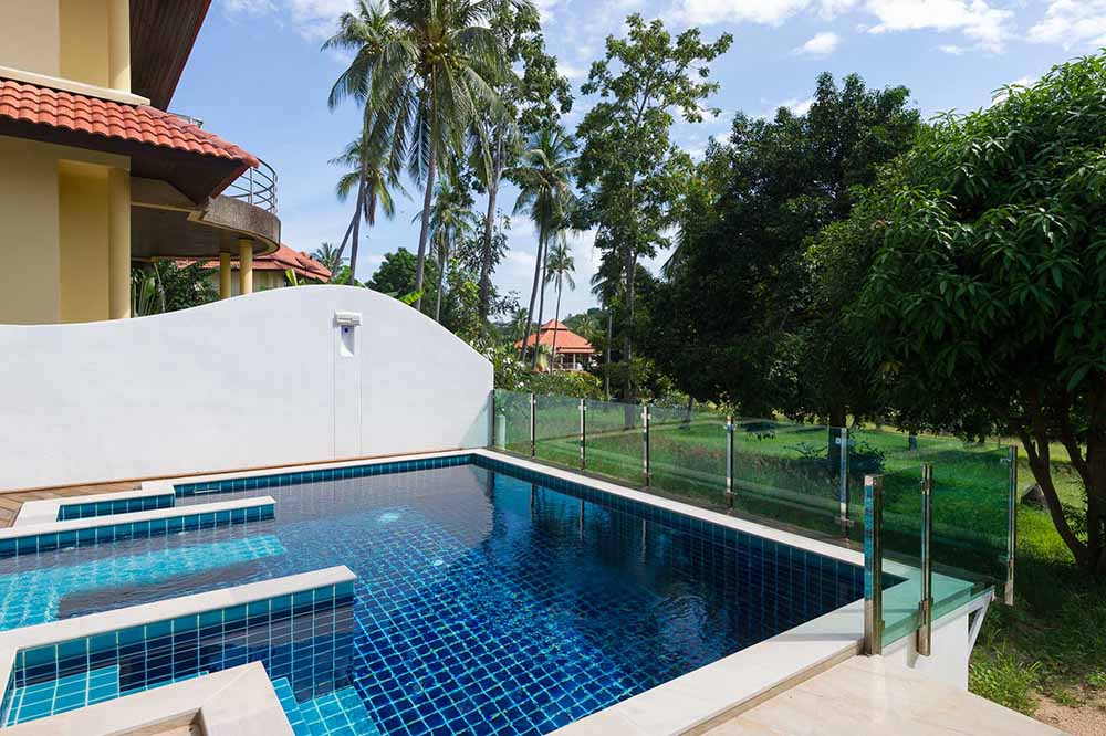 Koh Samui, Choengmon, 3 bedroom, detached pool villa, pool
