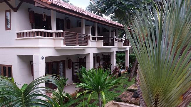 Koh Samui, Bophut, villa for sale, townhouse for sale, Baan Ton Mai, front view