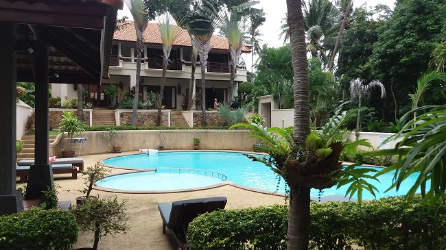 Koh Samui, Bophut, villa for sale, townhouse for sale, Baan Ton Mai, pool,
