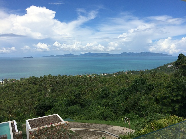 Koh Samui Apartment for Sale, Infinity Apartment for Sale, island view,