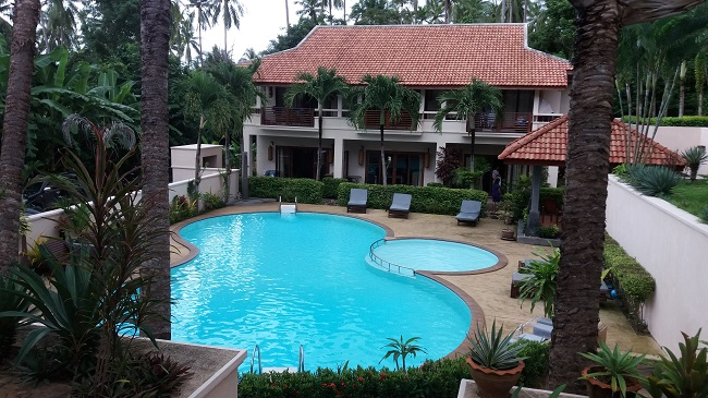 Koh Samui, Bophut, villa for sale, townhouse for sale, Baan Ton Mai, communal pool,