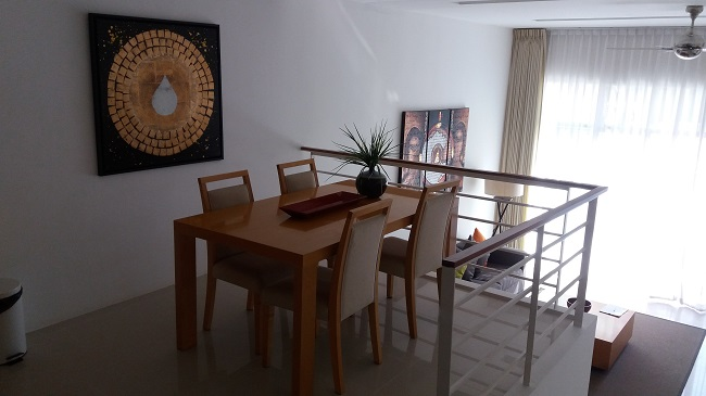 Koh Samui Condo for sale, Koh Samui Condominium for Sale, 2 bedroom Condo, Apartment for Sale, dining area,