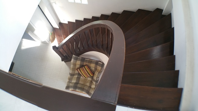 Koh Samui house for sale, Bangrak house for sale, stairs,