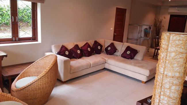 Koh Samui, Bophut, villa for sale, townhouse for sale, Baan Ton Mai, Lounge area,