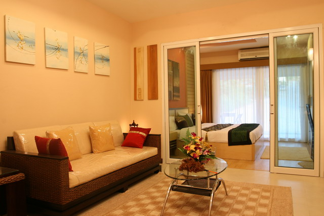 Koh Samui Condominium For Sale, Foreign Freehold For Sale, Living Room,