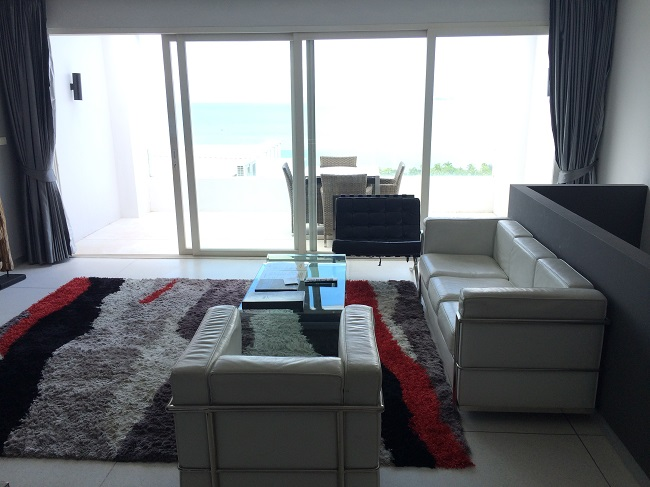 Koh Samui Apartment for Sale, Infinity Apartment for Sale, lounge,