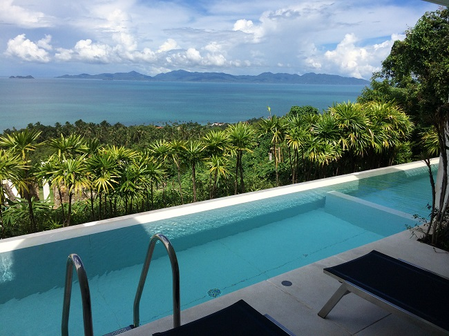 Koh Samui Apartment for Sale, Infinity Apartment for Sale, Pool and View