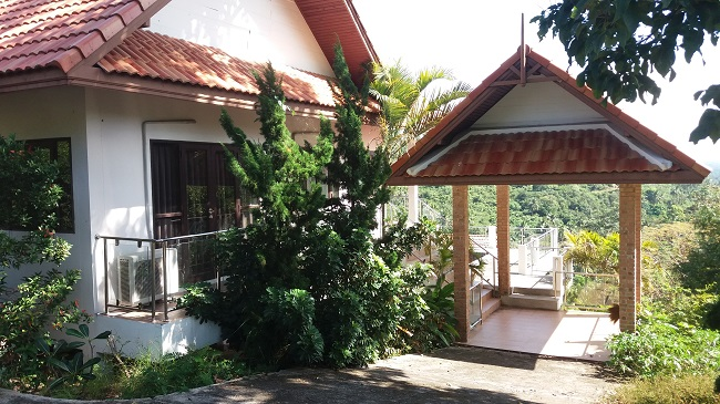 Koh Samui bungalow for sale, Sea view bungalow for sale, sala,