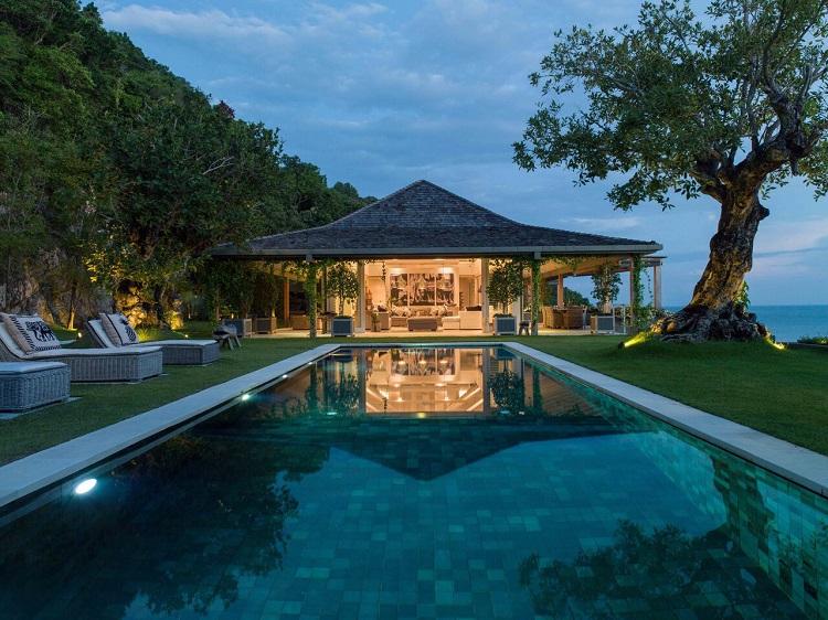 Koh Samui Luxury Villa for Sale, Ocean front villa for sale, swimming pool,
