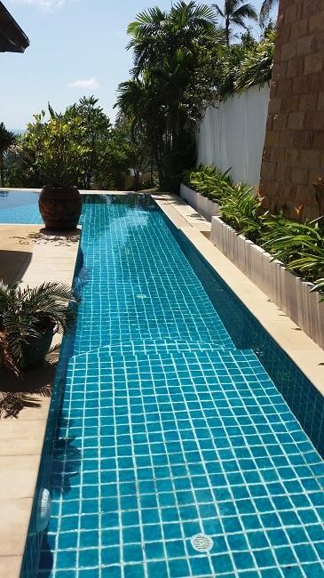 Ko Samui villa for sale, Sea view villa for sale, Villa with apartment for sale, lap pool,