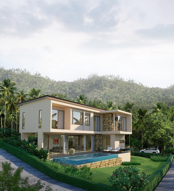 Koh Samui New Villas for sale, Sea view villas for Sale,