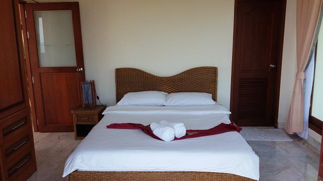 Ko Samui villa for sale, Sea view villa for sale, Villa with apartment for sale, bedroom 2,