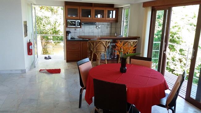 Ko Samui villa for sale, Sea view villa for sale, Villa with apartment for sale, apartment, dining area,