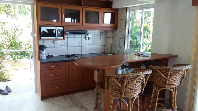 Ko Samui villa for sale, Sea view villa for sale, Villa with apartment for sale, apartment, Kitchen,