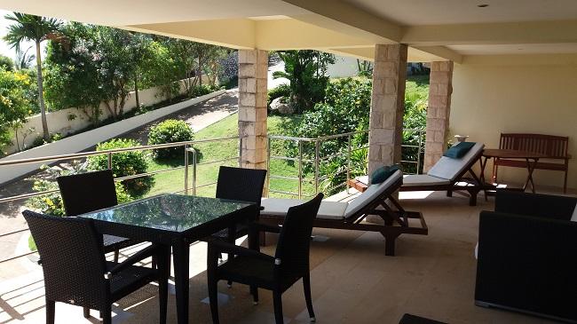 Ko Samui villa for sale, Sea view villa for sale, Villa with apartment for sale, apartment, balcony,