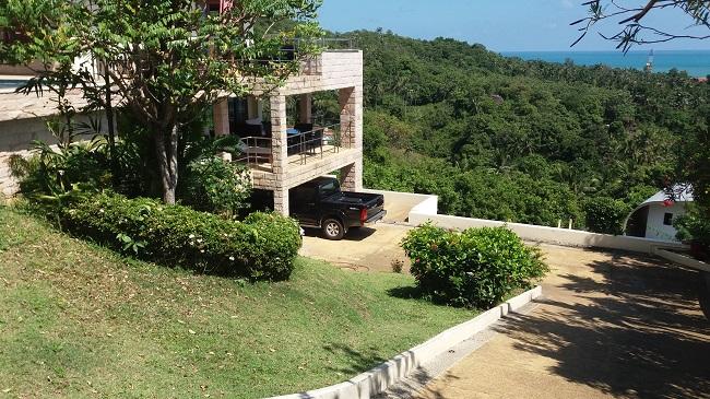 Ko Samui villa for sale, Sea view villa for sale, Villa with apartment for sale, access,
