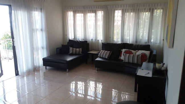 Koh Samui bungalow for sale, Sea view bungalow for sale, living room,