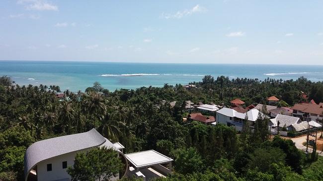 Ko Samui villa for sale, Sea view villa for sale, Villa with apartment for sale, view,